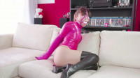 Pink Latex Bodysuit
