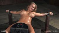 Huge breasted blonde Alyssa