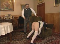 RussianSpanking -  Maid Hard Treated