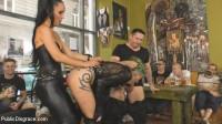Disobedient Slut Gets Publicly Punished