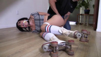Dixie Comet - Trouble Making Roller Skater Tied Up And Gagged (2015)