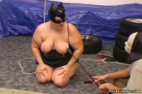 PainVixens/ Fat bondage slave