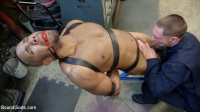 Zapped, Beaten & Fucked! — Lazy Shop Worker Takes His Punishment