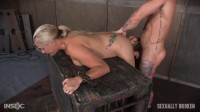 Angel Allwood Fucked From Both Ends And Made To Cum