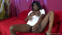 Chocolate Milks Her Cum Covered Tits