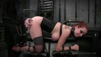 Master Damon Pierce and his submissive Ashley Graham came to play in our dungeon.