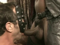 Slave To My Hole - older muscle men.