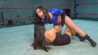 X Club Wrestling Blue Power Guardian vs. The Lotus Princess (2012)