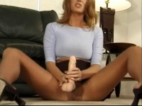 Best of Jennifer George Jerk Off Encouragement Pantyhose