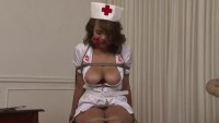 Bound and Gagged - Stacked Nurse in Bondage - Cassidy Banks
