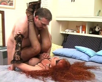Red Head T-Girl Whore — Scene 2