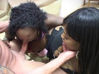 Fat ass ebonies loves to suck and swallow