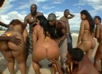 Big Bubble Butt Brazilian Orgy #9