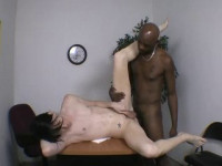 Ass Fucked By A Big Black Dick