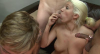 Cool Gang Bang With Bi Part 1