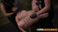Brooklyn Daniels and Lexy Villa Tie Rose Red To The Sybian