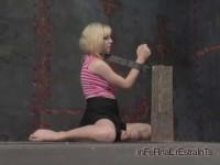 Flexible Pinky gets long term restraint when she's locked in