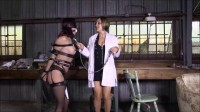 Super bondage, domination and torture for horny Brunette
