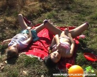 Zanetta & Katie B - Two schoolgirls exploring their bodies