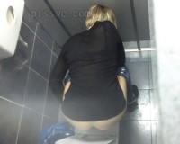 Spying for the female public toilet