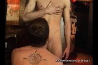 Backroom Hardcore Gay Anal Couple