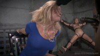 Blonde Milf Simone Sonay worked over hard by 2 cocks, brutal fucking! Darling (2014)