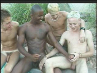 Black And White Twinks In Lust ; gay paddle spank!
