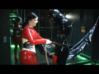 Lady Isis - Rubber Mumification