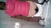 Download Public toilet spycam amateur urine and scat