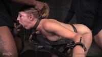 Mona Wales dicked down by BBC in tight bondage