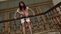 MilenaVelba - Milena Velba - White Dress - 720p