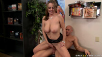 Sexy Lady Finds A Guy In Video Shop For Adults