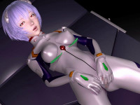 Plug Suit Rei! Sexual Interpolation New Story 2013