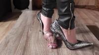 Lady Latisha Extreme Sadistic Heel Insertion Cruel Trample Cock Crushing Clip One (2014)
