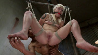 FB — 01-17-2014 - Cute Young Blonde Overwhelmed with Bondage and Cock
