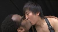 Black American & Japanese Boy