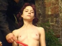 Young pussy double fucked
