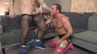Hunk Man In Stockings