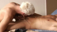 Blond Split by 9 Inch Cock