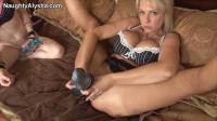 Two Sluts Two Huge Holes