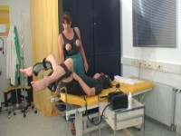 Clinic Sex and bizarre rubber fetish 5