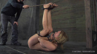 When he puts a vibrator on her clit she cant figure out whether she should scream or cum