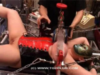 Pumping big tits and press with nails (2014)