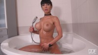 Sudsy Snatch — Belgian Beauty Masturbates in the Tub