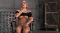 Blonde girl Carter Cruise tied up