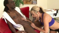 Horny blonde needs his BBC