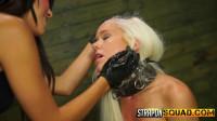 Halle Von Endures Lesbian Domination & Rough Sex with Marina Angel
