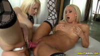 Blonde Fucked Her In Her Tight Glory and Received The Ultimate Rim Job