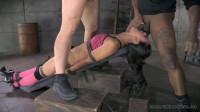 Sexy Latina Lyla Storm bound