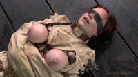 Ring gagged, blindfolded, Straight Jacketed, Inverted, Skull Fucked into Submission! SexuallyBroken